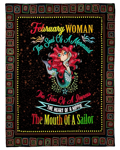 FEBRUARY WOMAN THE SOUL OF A MERMAID