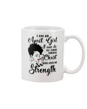 I AM AN APRIL GIRL Mug thumbnail