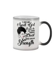 I AM AN APRIL GIRL Color Changing Mug thumbnail