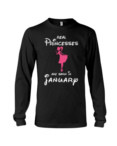 REAL PRINCESSES ARE BORN IN JANUARY