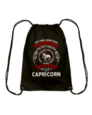 I AM A CAPRICORN - LIMITED EDITION Drawstring Bag tile