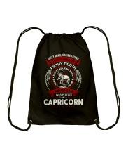 I AM A CAPRICORN - LIMITED EDITION Drawstring Bag thumbnail