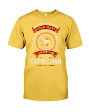 I AM A CAPRICORN - LIMITED EDITION Classic T-Shirt front