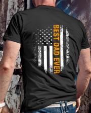 BEST DAD EVER Classic T-Shirt lifestyle-mens-crewneck-back-2