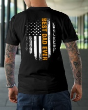 BEST DAD EVER Classic T-Shirt lifestyle-mens-crewneck-back-3