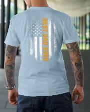 BEST DAD EVER Classic T-Shirt lifestyle-mens-crewneck-back-3