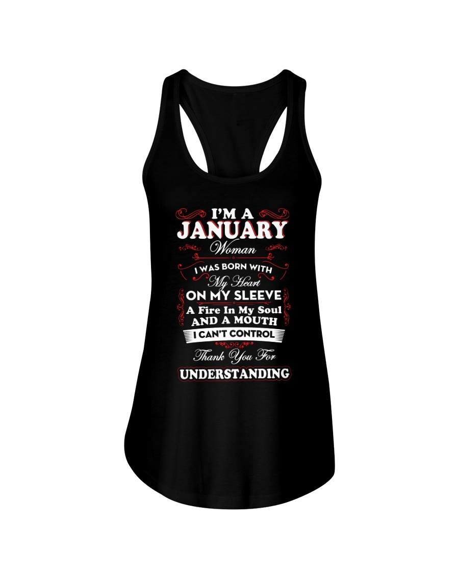 JANUARY WOMAN - LIMITED EDITION Ladies Flowy Tank