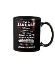 JANUARY WOMAN - LIMITED EDITION Mug thumbnail