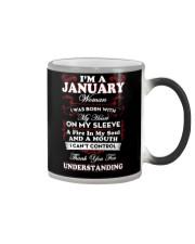 JANUARY WOMAN - LIMITED EDITION Color Changing Mug thumbnail