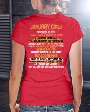 JANUARY GIRLS AMAZING IN BED Ladies T-Shirt lifestyle-women-crewneck-back-3