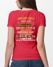JANUARY GIRLS AMAZING IN BED Ladies T-Shirt lifestyle-women-crewneck-back-4