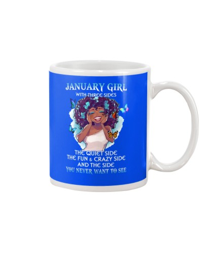 JANUARY GIRL WITH THREE SIDES