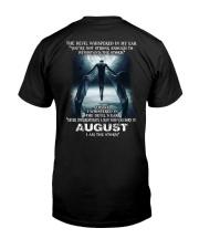 DEVIL WHISPERED - AUGUST Classic T-Shirt back