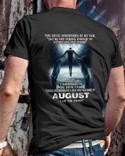 DEVIL WHISPERED - AUGUST Classic T-Shirt lifestyle-mens-crewneck-back-2