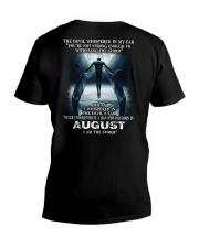 DEVIL WHISPERED - AUGUST V-Neck T-Shirt thumbnail