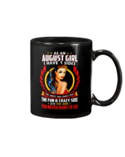 AS AN AUGUST GIRL Mug thumbnail