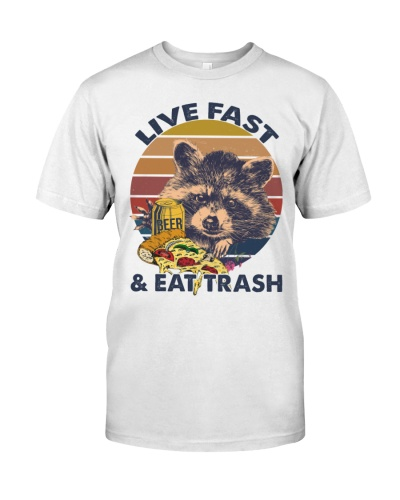 LIVE FAST AND EAT TRASH - CAMPING