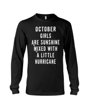 OCTOBER GIRLS ARE SUNSHINE  Long Sleeve Tee tile