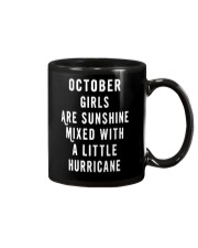 OCTOBER GIRLS ARE SUNSHINE  Mug tile
