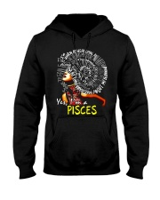 YES I AM A PISCES Hooded Sweatshirt thumbnail