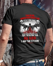 DEVIL WHISPERED - LEO Classic T-Shirt lifestyle-mens-crewneck-back-2