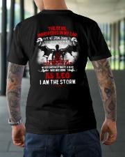 DEVIL WHISPERED - LEO Classic T-Shirt lifestyle-mens-crewneck-back-3