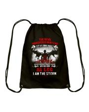 DEVIL WHISPERED - LEO Drawstring Bag thumbnail