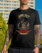 JUNE GUY WITH THREE SIDES Classic T-Shirt lifestyle-mens-crewneck-front-8