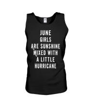 JUNE GIRLS ARE SUNSHINE  Unisex Tank thumbnail