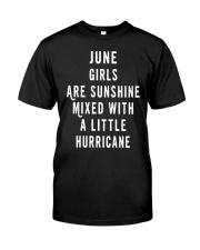 JUNE GIRLS ARE SUNSHINE  Classic T-Shirt thumbnail