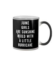 JUNE GIRLS ARE SUNSHINE  Color Changing Mug thumbnail