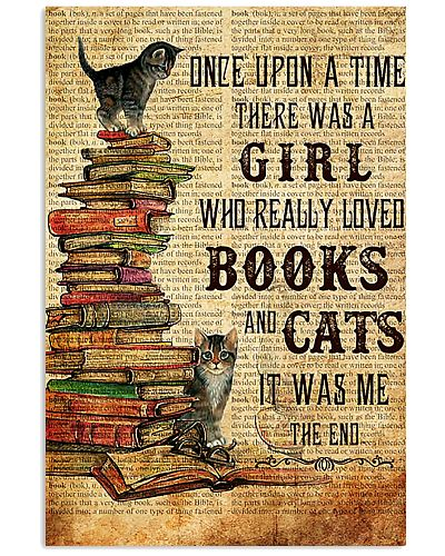 THERE WAS A GIRL WHO REALLY LOVED BOOKS AND CATS