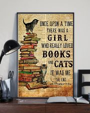 THERE WAS A GIRL WHO REALLY LOVED BOOKS AND CATS 16x24 Poster lifestyle-poster-2