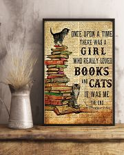 THERE WAS A GIRL WHO REALLY LOVED BOOKS AND CATS 16x24 Poster lifestyle-poster-3