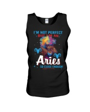 I'M AN ARIES SO CLOSE ENOUGH Unisex Tank thumbnail