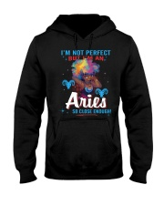 I'M AN ARIES SO CLOSE ENOUGH Hooded Sweatshirt thumbnail