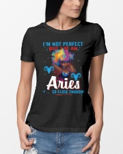 I'M AN ARIES SO CLOSE ENOUGH Ladies T-Shirt lifestyle-women-crewneck-front-10