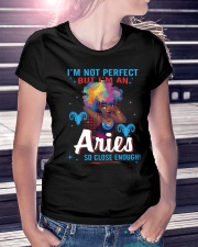 I'M AN ARIES SO CLOSE ENOUGH Ladies T-Shirt lifestyle-women-crewneck-front-7