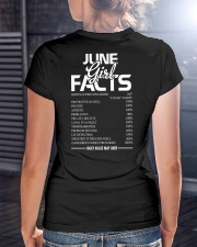 JUNE GIRL FACTS Ladies T-Shirt lifestyle-women-crewneck-back-3