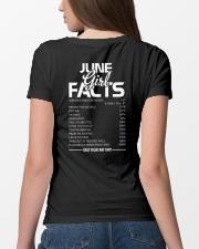 JUNE GIRL FACTS Ladies T-Shirt lifestyle-women-crewneck-back-4