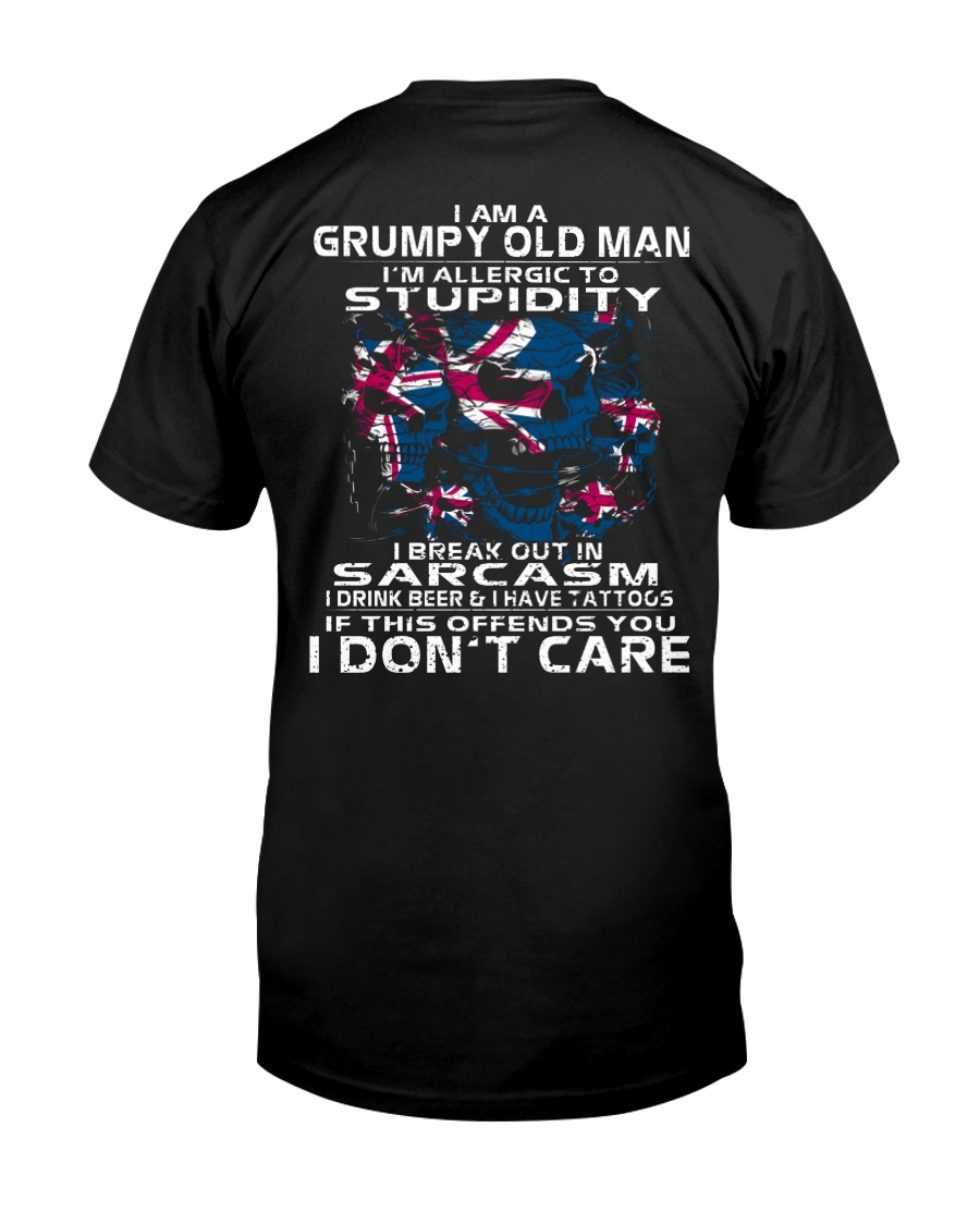 I AM A GRUMPY OLD MAN - AUSTRALIA Classic T-Shirt