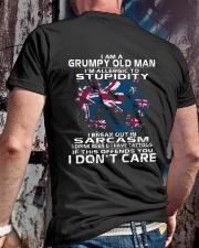 I AM A GRUMPY OLD MAN - AUSTRALIA Classic T-Shirt lifestyle-mens-crewneck-back-2