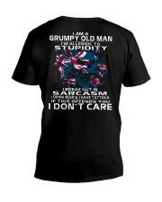 I AM A GRUMPY OLD MAN - AUSTRALIA V-Neck T-Shirt thumbnail