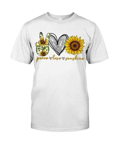 PEACE LOVE SUNSHINE - HIPPIE