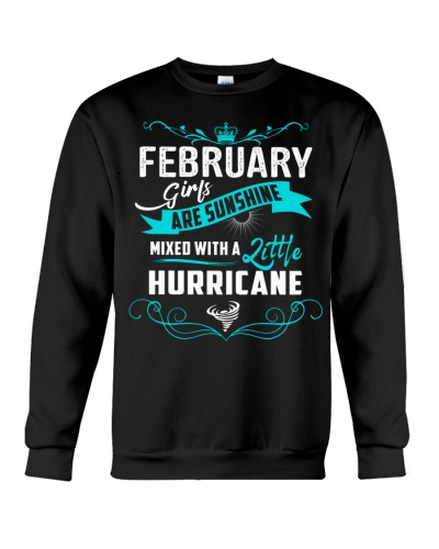 FEBRUARY GIRLS - SUNSHINE MIXED WITH A  HURRICANE