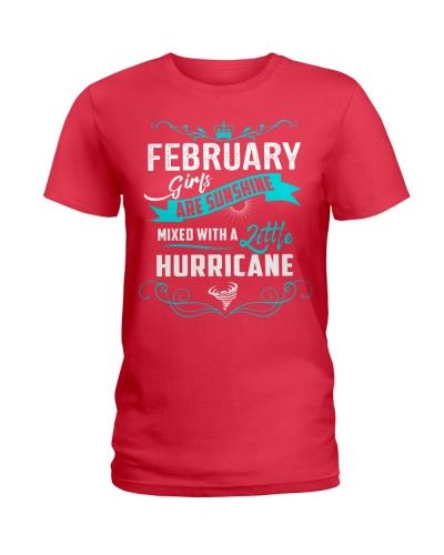 FEBRUARY GIRLS - SUNSHINE MIXED WITH A  HURRICANE