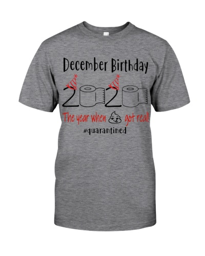 DECEMBER BIRTHDAY 2020 THE YEAR WHEN SHIT GOT REAL