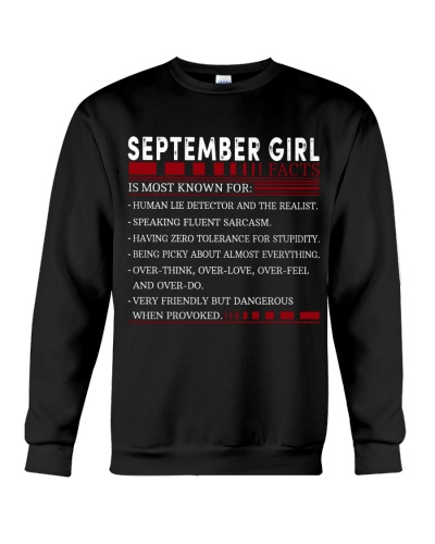 SEPTEMBER GIRL FACTS