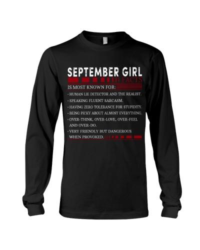 SEPTEMBER GIRL FACTS