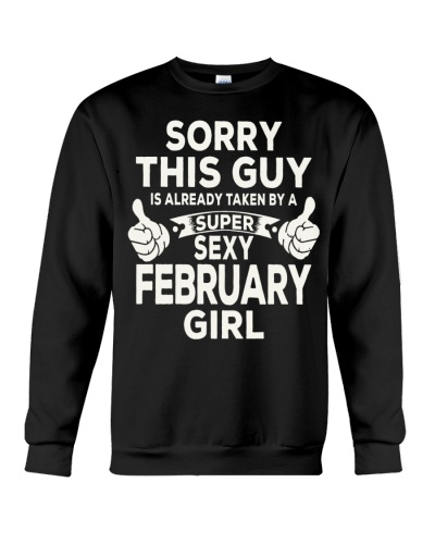 SUPER SEXY FEBRUARY GIRL - LIMITED EDITION